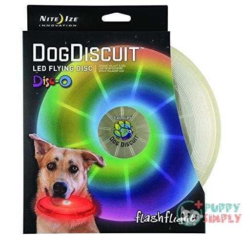 Nite Ize Flashflight, Dog Discuit