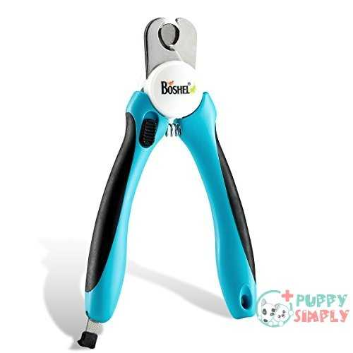 BOSHEL Dog Nail Clippers and